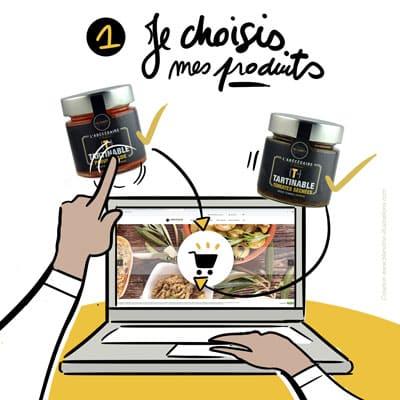 1 - Je choisis mes produits - ABC Culinaire